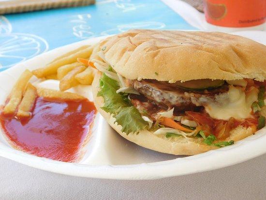 La Passe, Σεϋχέλλες: burger