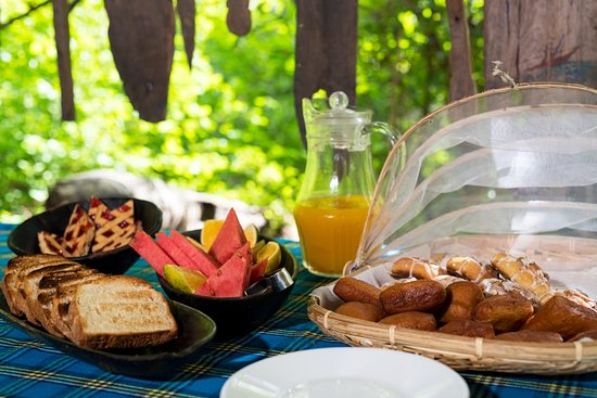 Заповедник Селус, Танзания: Breakfast