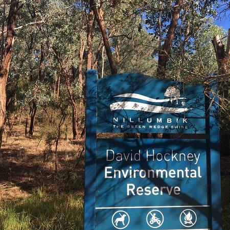 Diamond Creek, ออสเตรเลีย: David Hockney Environmental Reserve