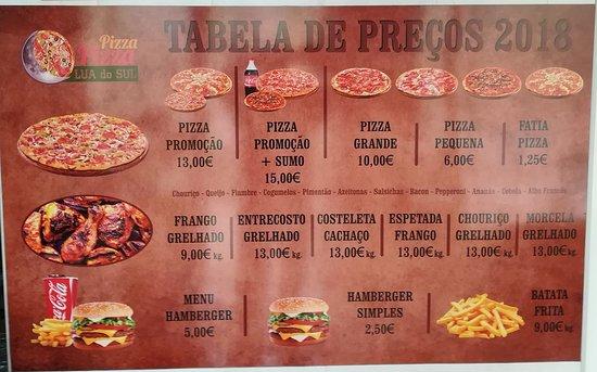 imagem Pizzaria Lua do Sul em Vila Franca do Campo