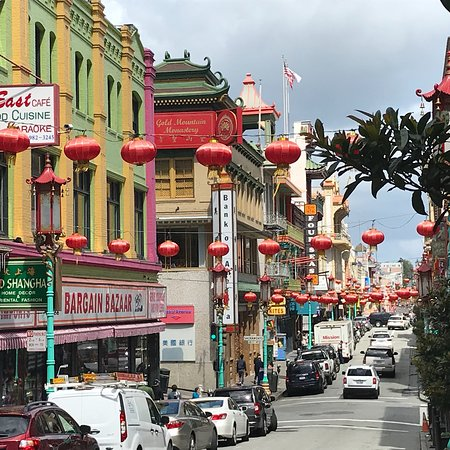 Ein Hauch von China in der Stadt