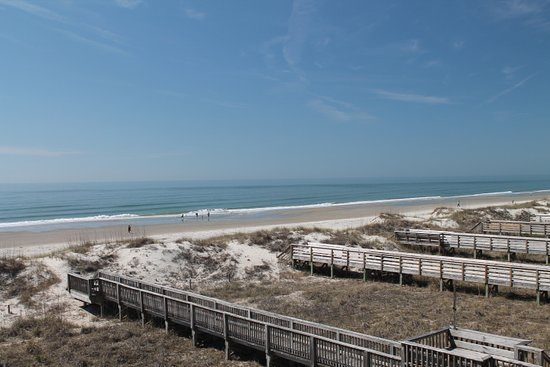 The Winds Resort Beach Club: view from the balcony.