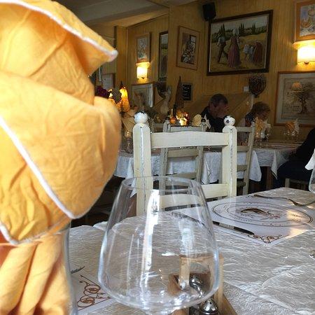 Dame l'oie : Le restaurant