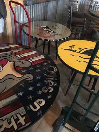 Cool Table Tops Picture Of Ollies On The Beach Hudson TripAdvisor - Cool table tops