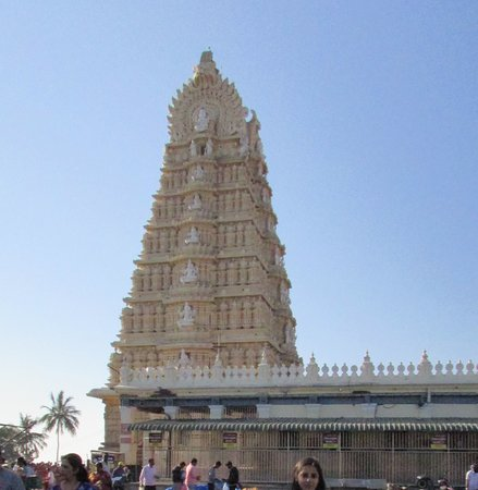 Srikanteshwara Temple: front view of temple