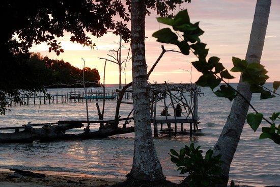 Togian Islands, Indonesia: Sunset Poki Poki
