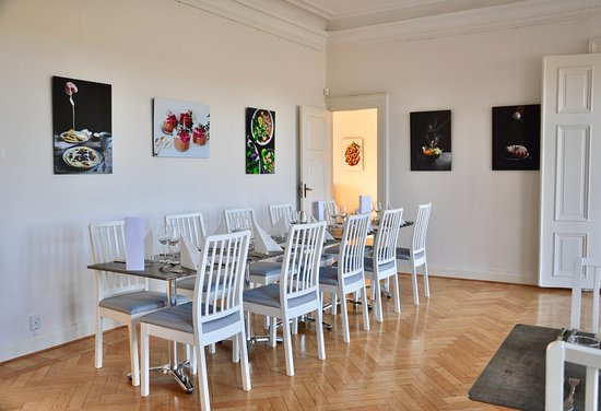 Andrarum, Sweden: Our dining room