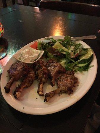 Maydanoz: Lamb chops.