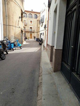 Cervera del Maestre, Spanien: Visita del club motovespa de castellon