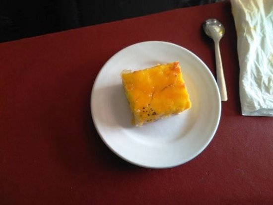 Santa Maria De Palautordera, Spain: Tarta de crema