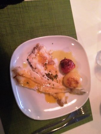 Meraki 17 restaurant: Lenguadina plancha