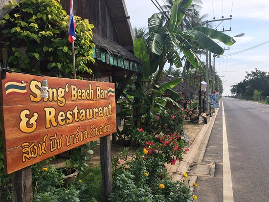 Pran Buri, Thái Lan: Sing's Beach Bar and Restaurant