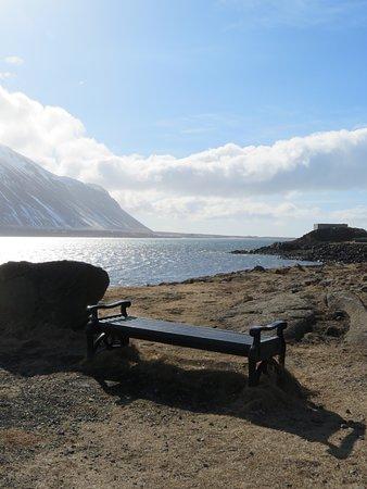 Borgarnes, Iceland: Small park around The Settlement Center