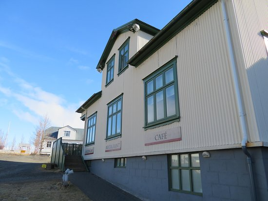 Borgarnes, Iceland: The restaurant that is attached to the Settlement Cener