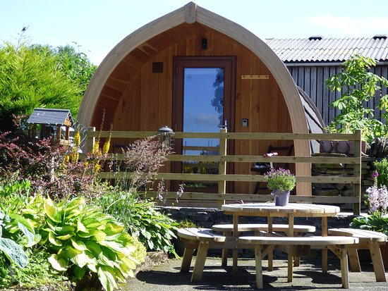 Mosedale End Farm Bed and Breakfast & Glamping Pod: Glamping Pod