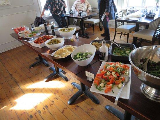 Borgarnes, Iceland: Wellness Buffet at the Settlement Center