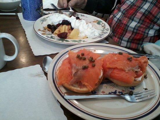 Mountain Home, AR: cured salmon - yum