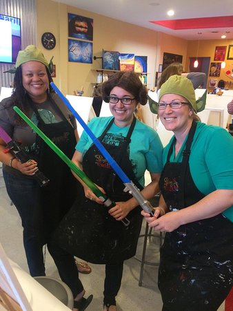 Painting with a Twist: Theme Nights rock at PWAT Camarillo!