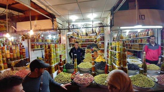 Marrakech Food Tours: Olives!