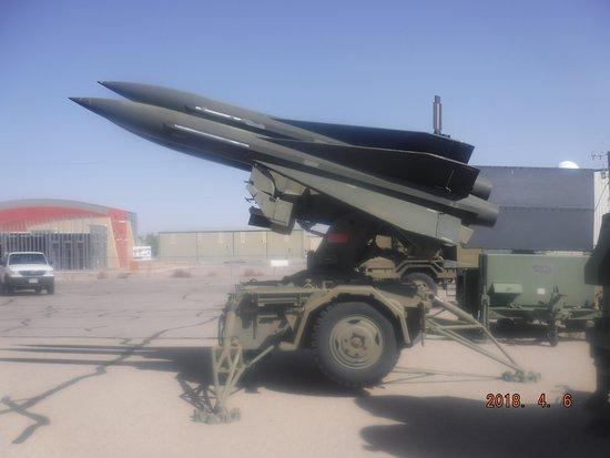 Santa Teresa, NM: Hawk SAM launcher