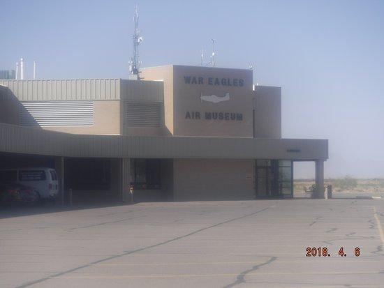 Santa Teresa, NM: Museum entrance