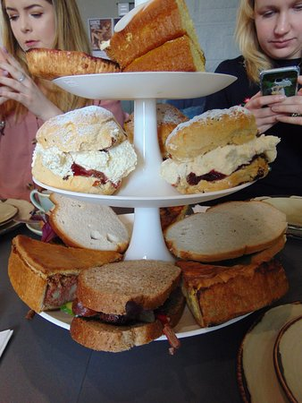 Longframlington, UK: Afternoon Tea