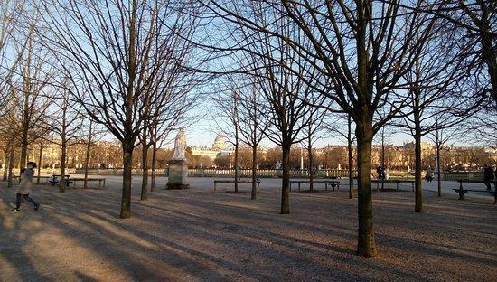 paris 1515 le jardin du luxembourg en hiver - Le Jardin Du Luxembourg
