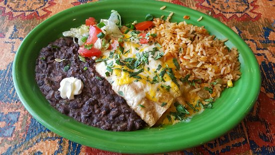Lantana, فلوريدا: Enchiladas  