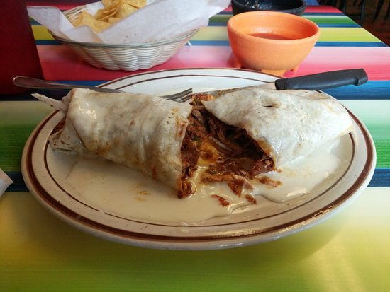 Vandalia, IL: Burrito Fajita Grande
