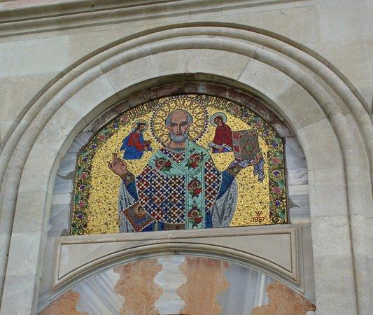 Manastirea Dealu: Entry door