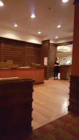 Porter's Steakhouse: Hostess Area