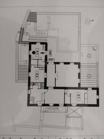 Cotommatae Hydra 1810: Upper level plan