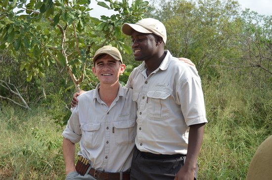 Ulusaba Private Game Reserve, Sudafrica: Our guide Liam and tracker David