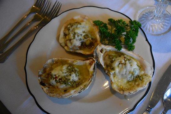 Irvington, VA: Baked Rappahannock Oysters