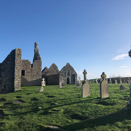 County Offaly, Ierland: Clonmacnoise