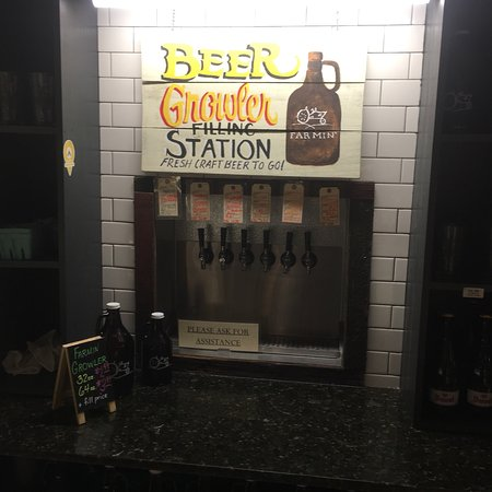 Wilmington, NC: Growler station and wine tasting