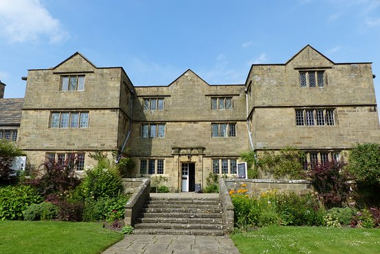 Front of Eyam Hall, taken on a previous visit