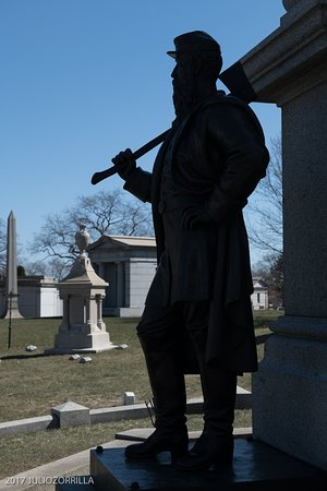 Green-Wood Cemetery : Memory to Civil War