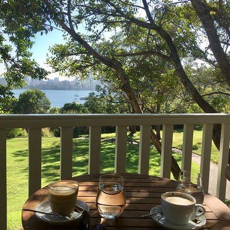 Had coffee, enjoying the gorgeous view