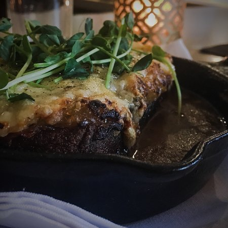 Kismet: Bone broth bread pudding. Came back just for another.