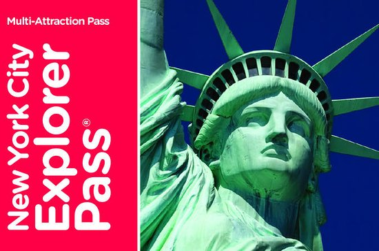 New York City Explorer Pass with Admission to Top Attractions