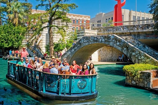 San Antonio River Walk and Tower of
