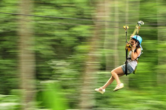 Zip Line Adventure with 2 hour Luxury Spa Combo