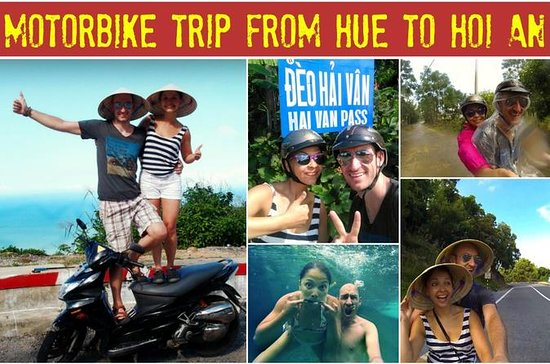 Easy Rider Hue to Hoi An Tour 1 day
