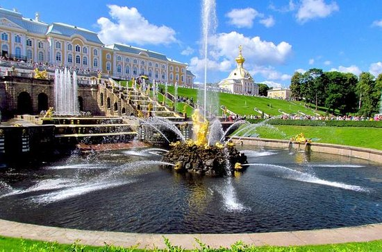 Grand Palace and Parks of Peterhof...