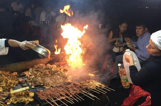 Lima Historic Center Street Food...