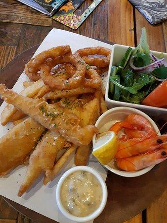 Nulkaba, أستراليا: Mix seafood