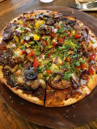 Nulkaba, أستراليا: Pizza