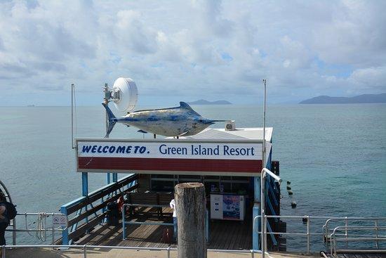 Green Island, Australia: 船着き場