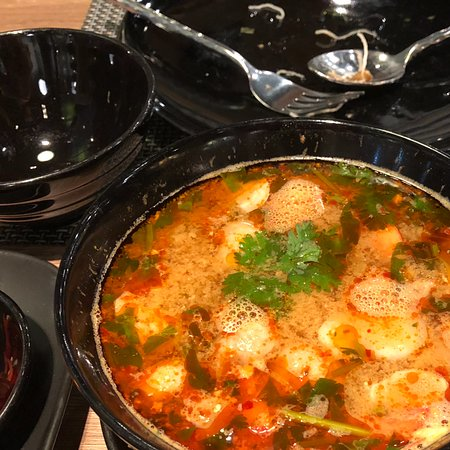 Osha Thai Restaurant & Bar: Tom Yum soup